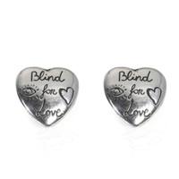 值友专享:Gucci Blind For Love YBD45525500100U 耳钉