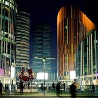 双11预售 : 城市核心商圈!北京世贸天阶酒店式公寓1晚