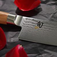日本原装旬刀大马士革钢日式厨房刀具原木手柄水果刀三德刀主厨刀