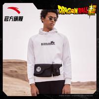 安踏龙珠联名胸包机能多功能大容量户外运动跑步单肩斜跨包胸包