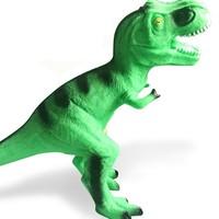 锦明(玩具) 电动软胶恐龙 仿真玩具 会发声 2色可选