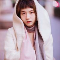 澳洲直邮 iPure UGG 时尚百搭双面围巾 双色可选 190cm*30cm Grey/Pink