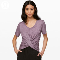 lululemon丨Do the Daily 女士运动短袖 T 恤 LW3BYRS