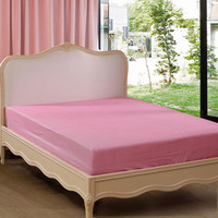 富安娜出品 圣之花家纺 全棉斜纹床笠床垫清新百搭床垫