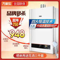 万家乐 P1系列经济节能智能宽频静音恒温家用低水压启动燃气热水器 JSQ24-P1 液化气