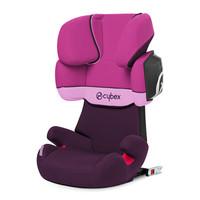 德国 cybex赛佰斯儿童安全座椅 solution x2-fix 3岁-12岁 紫雨粉