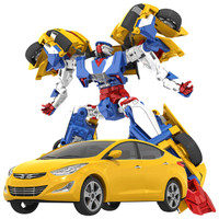 买奇酷(MAGQOO)咖宝车神爆裂车儿童小男孩女孩玩具变形机器人变形车热舞弗龙轿车HC1-004Y
