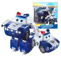 奥迪双钻(AULDEY)超级飞侠 男孩女孩儿童玩具 变形机器人-贝警员 730233