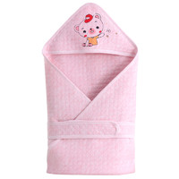 贝乐咿初生儿抱被春秋冬季纯棉宝宝保暖抱毯包巾