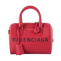 """BALENCIAGA 巴黎世家 女士经典""""Balenciaga""""印花大容量手提单肩斜挎包"""