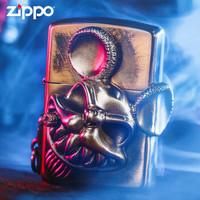 zippo芝宝正版打火机 怪力鼠限量版盔甲机正品防风男士火机 怪力鼠