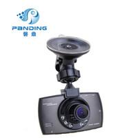 磐鼎P602C 送读卡器 高清1080P红外线夜视记录仪 循环摄像.24小时停车监控 灰色 单录无卡