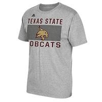 阿迪达斯 NCAA 男士大图案短袖 T 恤衫