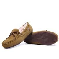 双11预售、女神超惠买 :  JUMBO 简帛 女士羊毛一体豆豆鞋