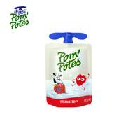 法优乐(Pompotes)  儿童营养常温酸奶草莓口味85g*1袋 *37件