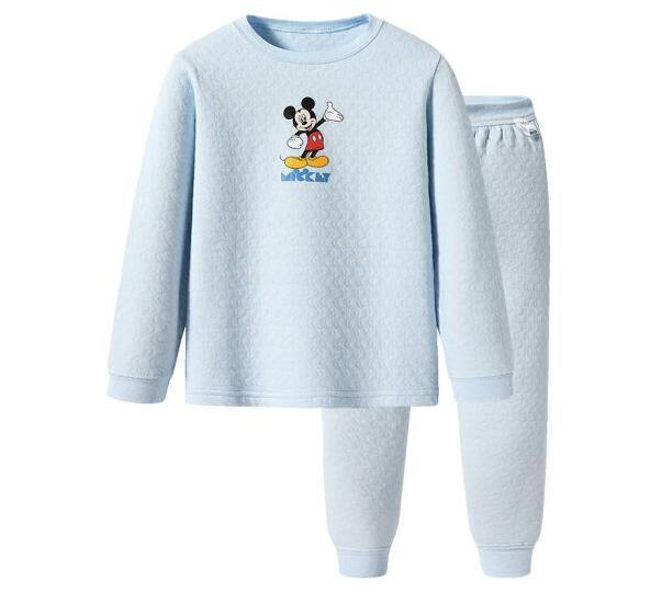 THREEGUN 三枪 迪士尼系列 男童保暖内衣套装
