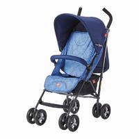 gb好孩子婴儿推车可坐可躺四季轻便伞车宝宝折叠避震手推车D410-P115BB 蓝色