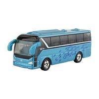 多美(TAKARA TOMY)小汽车模型玩具CN-14一汽解放客车巴士 *7件