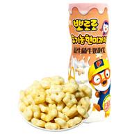 啵乐乐 益生菌牛奶泡 玉米芝士味 60g *5件