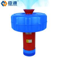 臣源鱼塘增氧机鱼塘养殖排灌增氧机水泵 (220V/1500W)浮水泵30米线