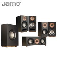 尊宝(JAMO)S 803 HCS 音响 音箱 5.1声道木质无源家庭影院套装 (黑色)