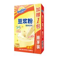 阿华田(Ovaltine)营养豆浆 早餐速溶香浓原味非转基因速溶豆浆粉随身包180g 30g*(5+1)包(新老包装随机发货) *12件