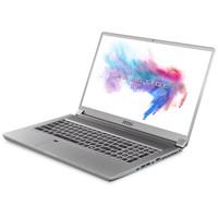 微星(msi)P75新世代 17.3英寸创意设计笔记本电脑(九代i7-9750H 8G*2 512G SSD RTX2060 144Hz全面屏 雷电3)