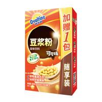 阿华田(Ovaltine)营养豆浆 阳光早餐 速溶香浓可可味风味非转基因速溶豆浆粉随身包180g 30g*(5+1)包 *12件