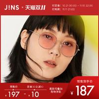 JINS睛姿19款金属时尚男女同款太阳镜墨镜防紫外线LMF19S388仅