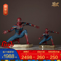 铜师傅 漫威正版《蜘蛛侠》限量版 手办模型 铜工艺品 摆件
