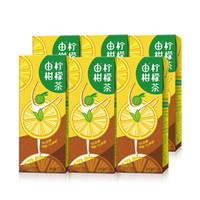 东鹏(EASTROC)由柑柠檬茶 250ML*6盒/箱 柠檬果汁茶饮料果味茶 东鹏特饮出品 *18件