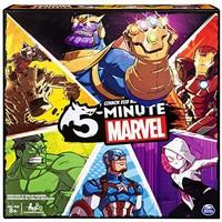Spin Master 漫威5分钟游戏卡,未漫威粉丝和8岁及以上儿童超人蜘蛛侠钢铁侠美国队长绿巨人