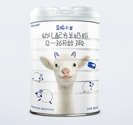 Doraler 朵拉小羊 婴儿羊奶粉 3段 800g