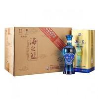 洋河蓝色经典 海之蓝52度520ml*6瓶 整箱装白酒