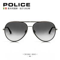 双11预售 : POLICE SPL966I-08H5 全框金属偏光墨镜