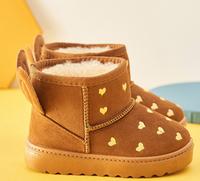 小熊社 儿童加厚雪地靴