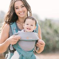 移動端 : 美國Ergobaby 嬰兒背帶360系列透氣款 (4個月-4歲) 薄荷綠