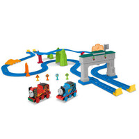 Thomas & Friends 托馬斯&朋友 男孩小火車玩具 電動系列 FRL57 托馬斯和勇寶友誼賽跑套裝 *2件