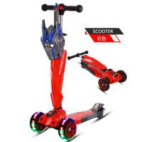 騎兵王子滑板車兒童三輪車寶寶滑滑車2-4-6-8歲踏板車兒童車