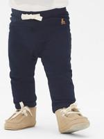 Gap/盖璞 婴儿 基本款布莱纳小熊刺绣可爱松紧腰长裤