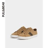 11日0点 : PULL&BEAR 男鞋夏季2019新款侧条纹设计运动鞋男板鞋男 17208012