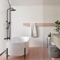 OULIN 欧琳 3003S-B 铜质挂墙式三出水花洒套装 +凑单品