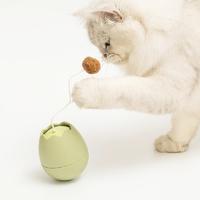 lezizi 樂吱吱  不倒翁蛋殼電動逗貓玩具