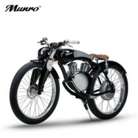 Munro2.0電動車 哈雷復古電動摩托車 2020小改款