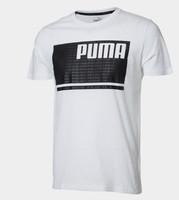 PUMA 彪马 852251  男子圆领短袖T恤