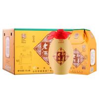 即墨老酒 黄酒 泡阿胶 御典10 甜型 焦香型 11.5度 1L*6坛 整箱装