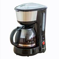 IRIS OHYAMA愛麗思咖啡機滴漏式保溫家用美式迷你全自動磨咖啡壺CMK-600B 黑色