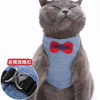 貓繩溜貓繩子幼貓牽引繩