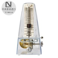 NIKKO 日本原裝進口日工精機正品尼康機械節拍器鋼琴吉他古箏小提琴架子鼓樂器通用節奏器 透明版 透明