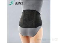 SIGMAX 日本進口 MAXBELT me black標準黑色護腰帶 腰椎間盤勞損突出護具 透氣保暖 黑色 L